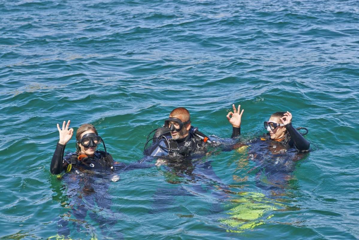 Diving Baptism In Albufeira