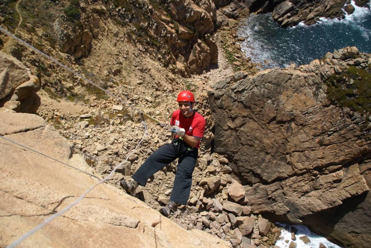 Rapel In Cabo Da Roca