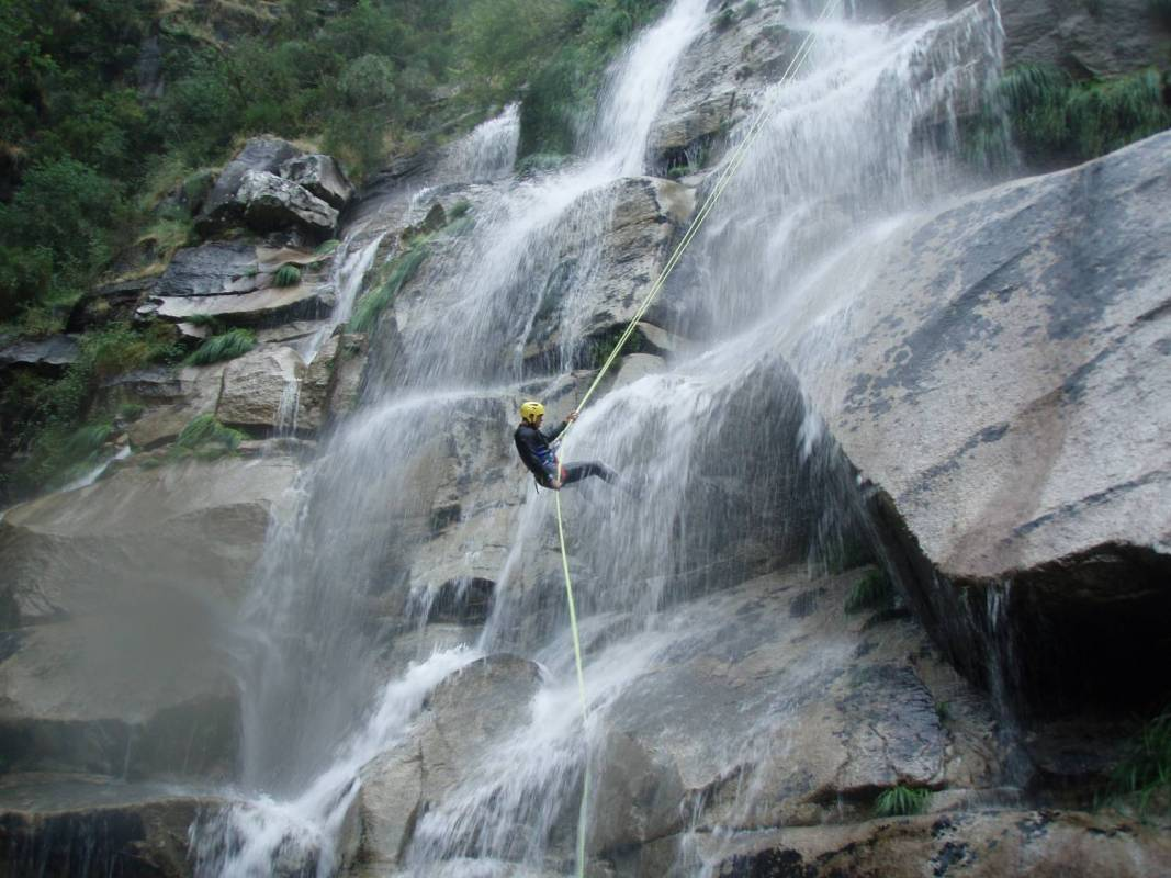 Canyoning In Teixeira's River