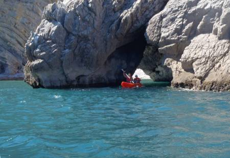 From Sesimbra: Kayaking Tour In The Grottoes Of Ribeiro Cavalo'S Beach In Arrábida