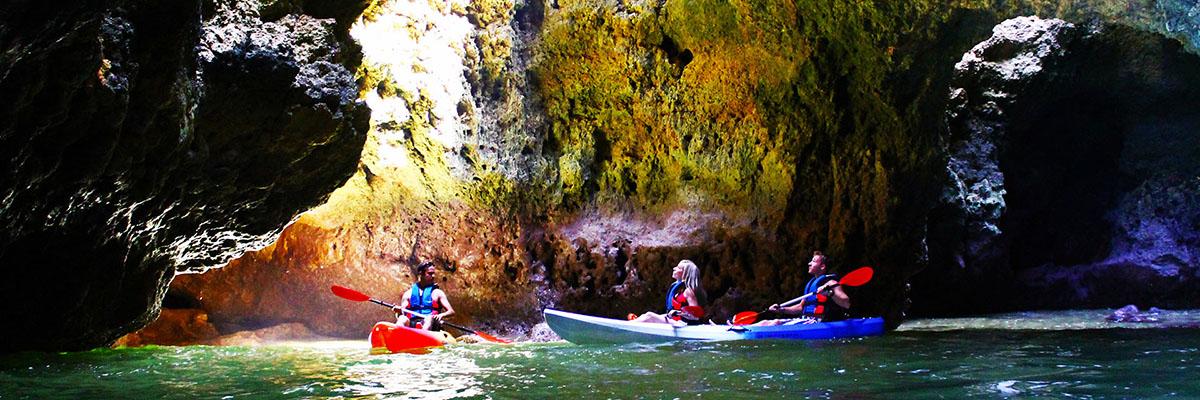 Kayak Tour - Ponta da Piedade