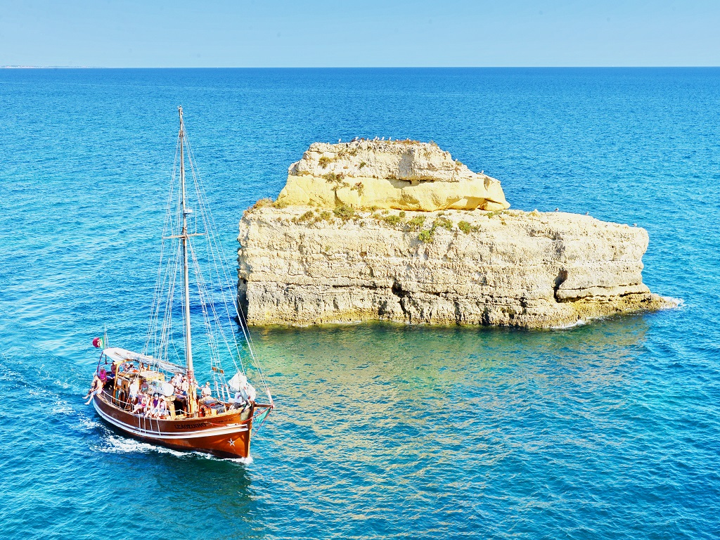 Pirate Ship Cruise Along The Algarve Coastline