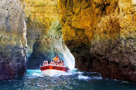 From Lagos: Boat Trip To The Caves Of Ponta Da Piedade
