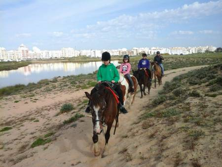 Horse Riding In Lagoa Dos Salgados