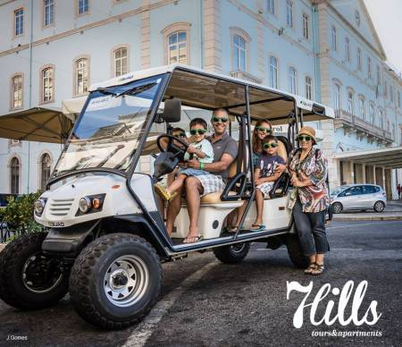 7Hills Tuk Tuk In Lisbon