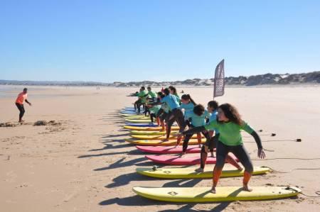Surf Lesson In Peniche