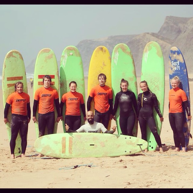 Surf Class In Costa Vicentina