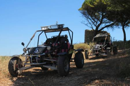 Cross Go-Kart Rides At Serra Da Arrábida