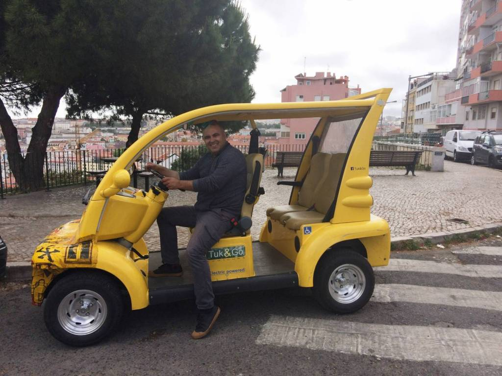 TukTuk in Lisbon