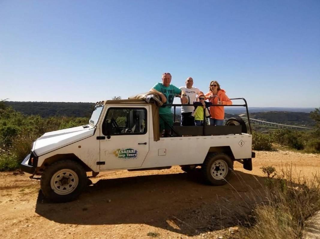 Jeep Safari In The Algarve