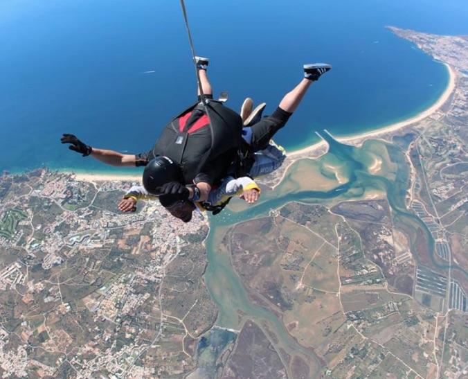 saut en parachute rate