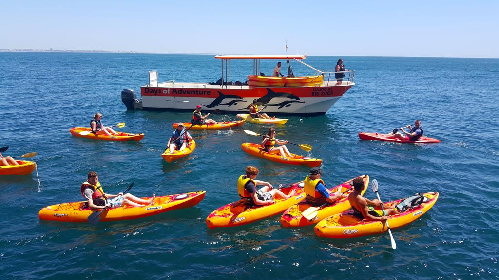 Kayak Tour Group - Lagos