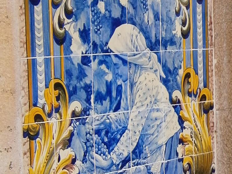 Douro tiles Pinhão