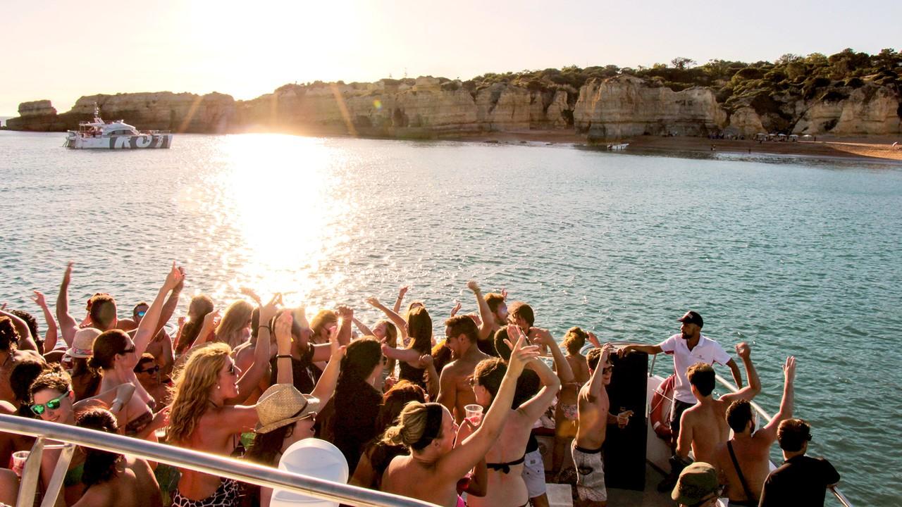 Algarve sunset Boat Party