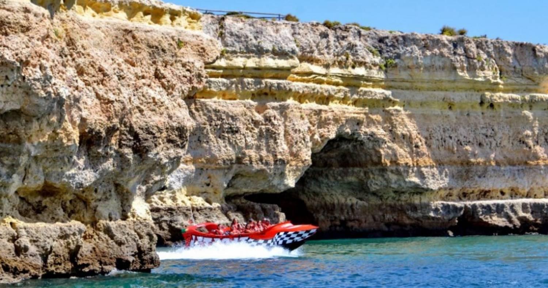 Jet Boat Ride In The Algarve