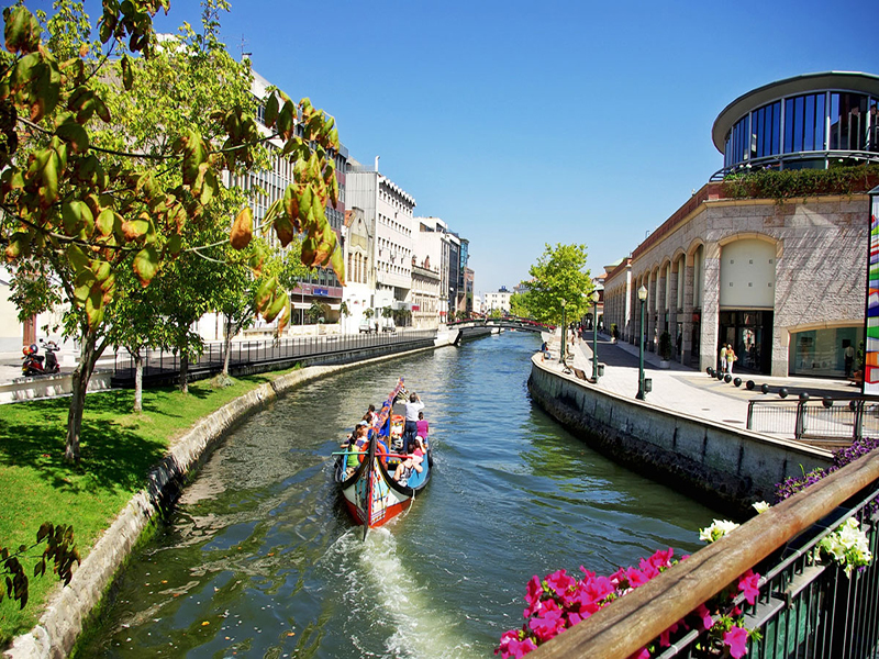 Water channel in Aveiro