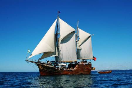 Visit The Carvoeiro Caves While You Sail On Santa Bernarda Pirate Ship