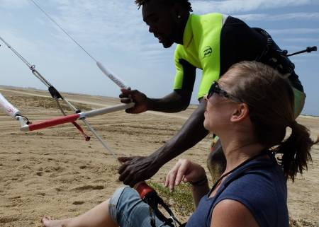Kitesurfing Lesson In Cape Verde