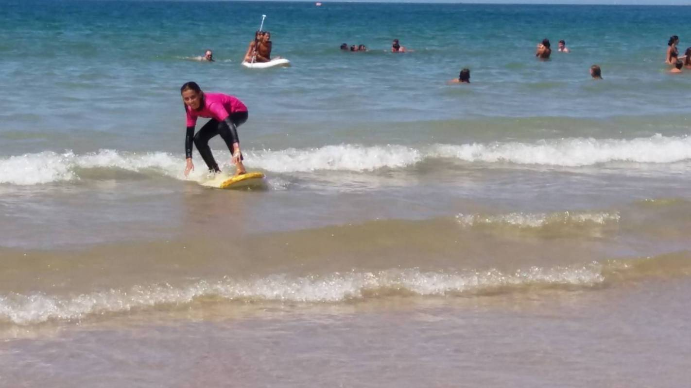 Surf-Unterricht