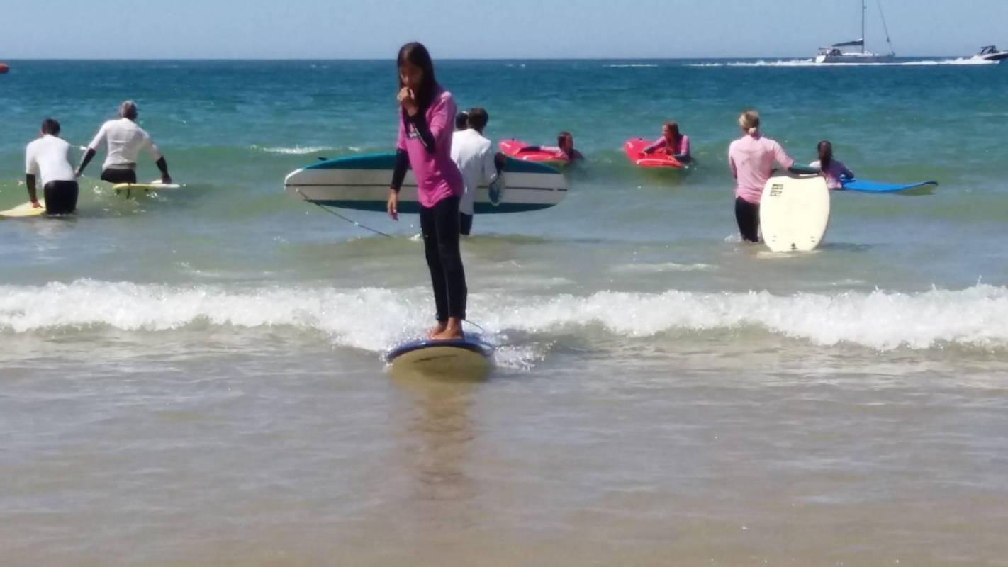 Des Leçons de Surf