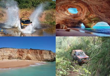 Boatjipe – Boat Caves Tour + 4X4 Silves Tour