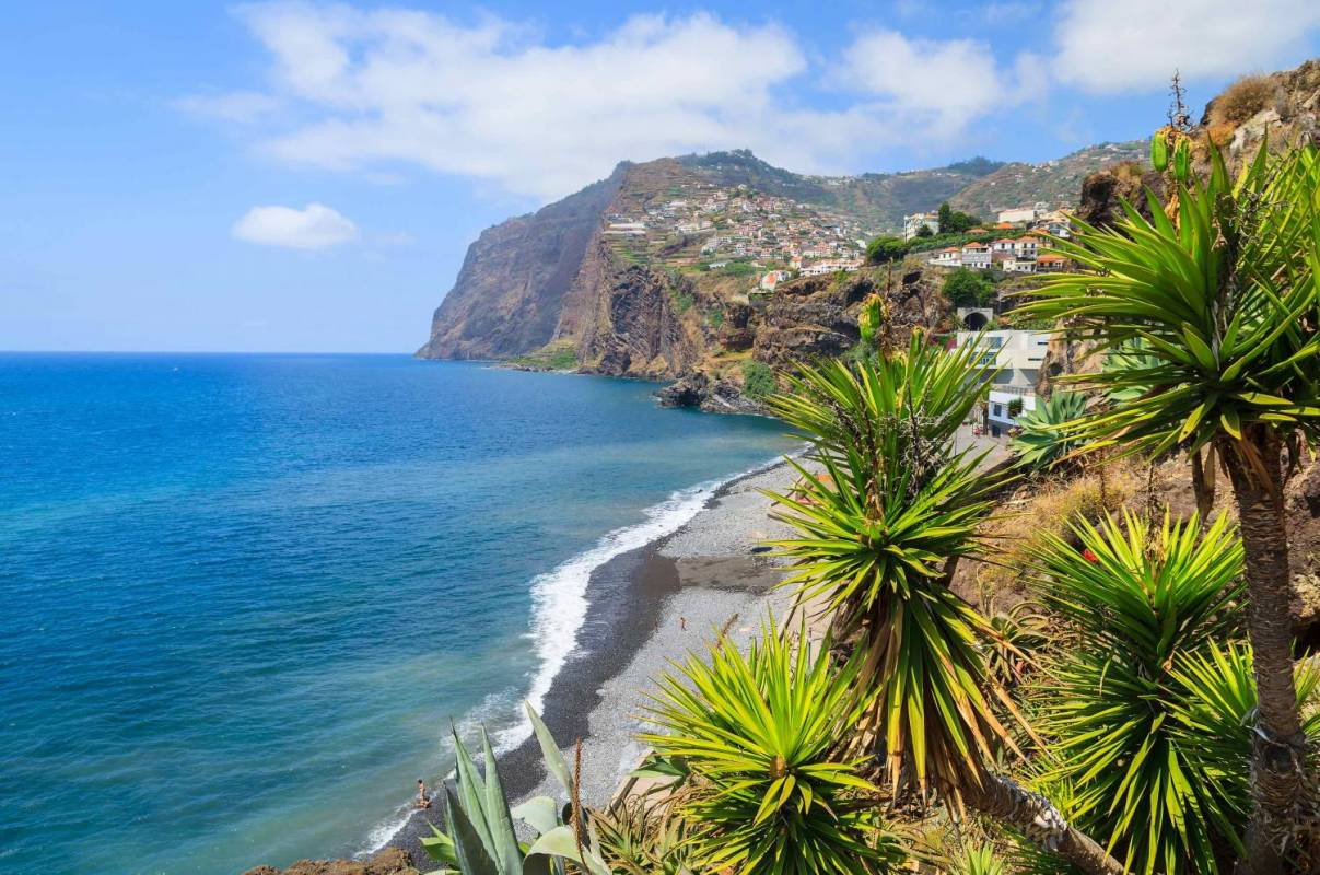 Cabo Girão from Câmara de Lobos