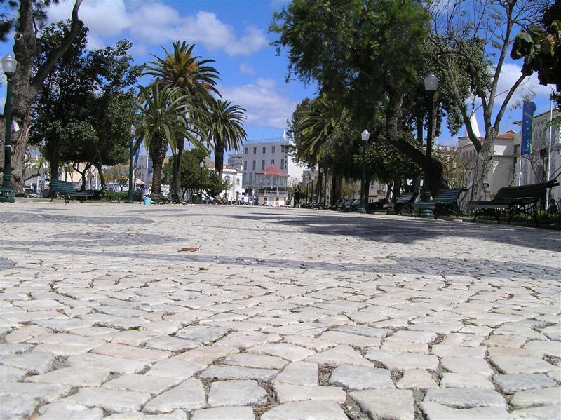 Calçada em Faro
