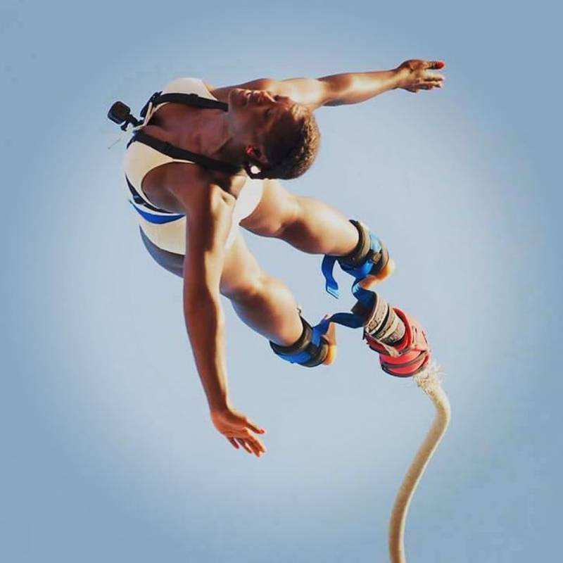 Water Touching Bungee Jumping - Albufeira