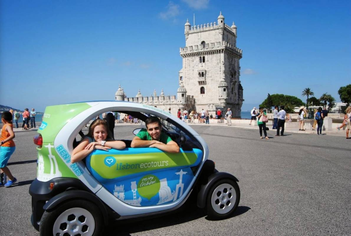 Twizy Tour in Lisbon