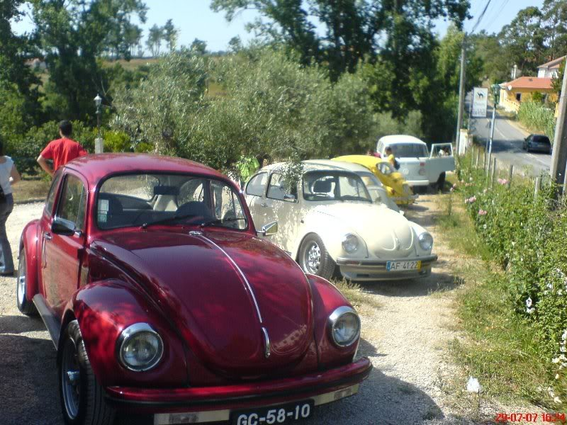 Beetle car in Sintra