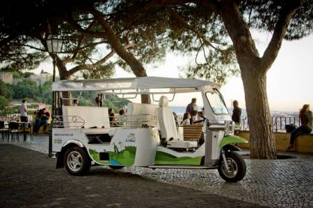 Old Town Lisbon By Eco Tuk Tuk
