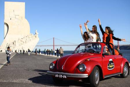 Half-Day Lisbon Tour By Convertible Beetle