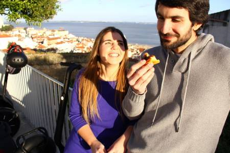 Lisbon Segway Tour With Typical Food Tasting