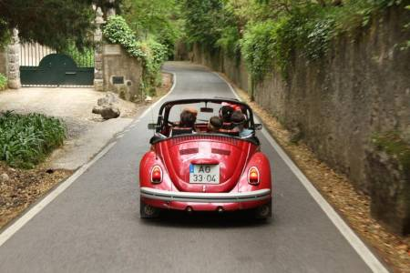 Tour To Sintra On A Classic Convertible Beetle With Wine Tasting