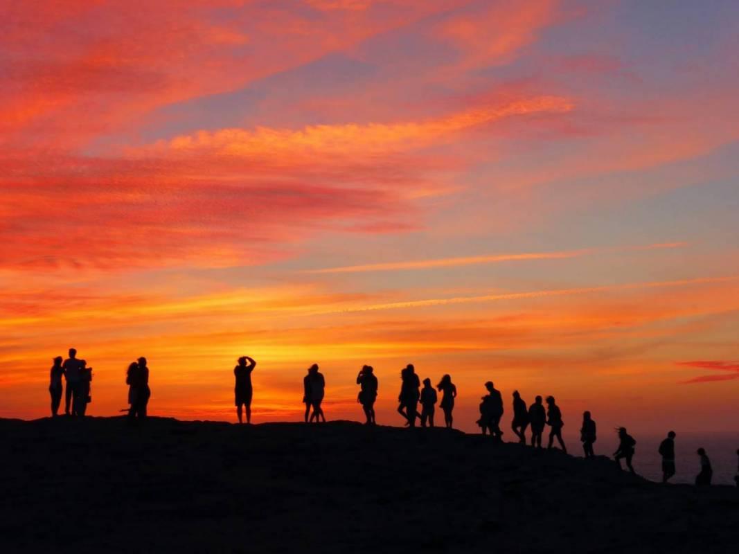 Sunset jipe tour