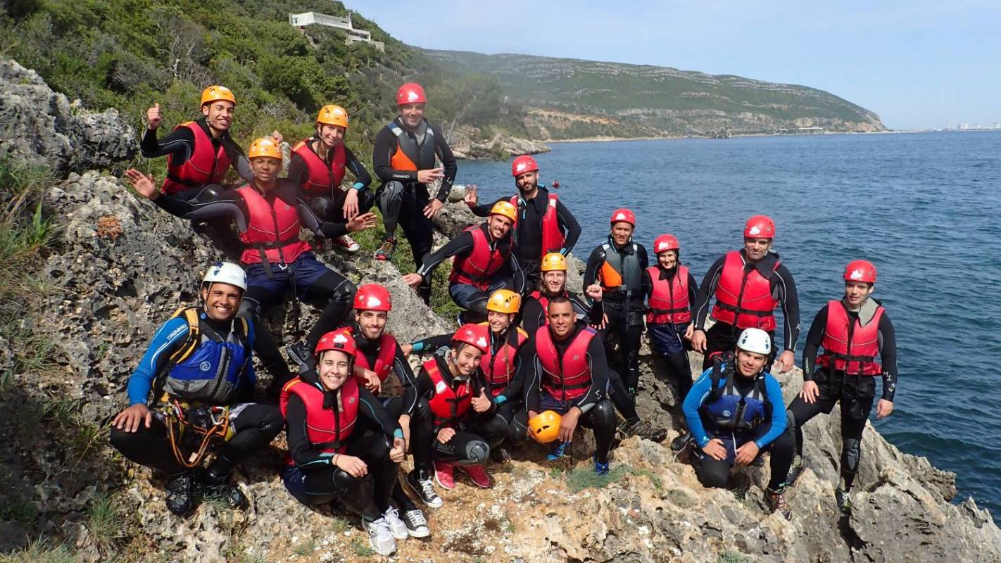 Coasteering In Arrábida