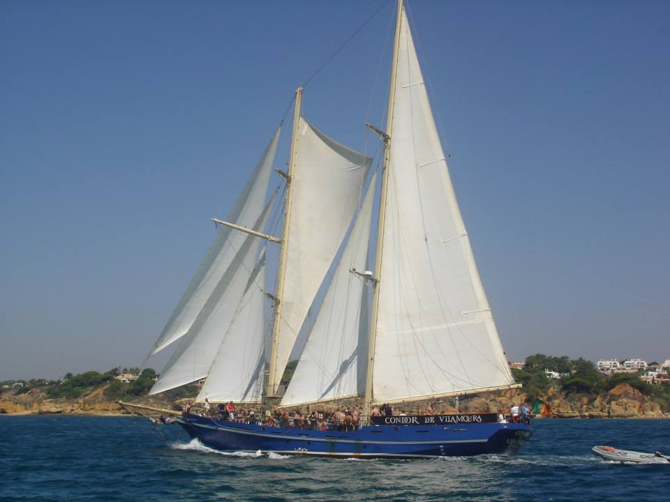 From Vilamoura: 3 Hour Sailing Boat Tour On The Algarve Coast