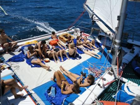 Catamaran Tour To Caves & Rocks Of Galé – From Vilamoura
