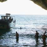 Manguito Yacht inside benagil caves