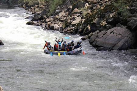 Rafting in Tâmega River
