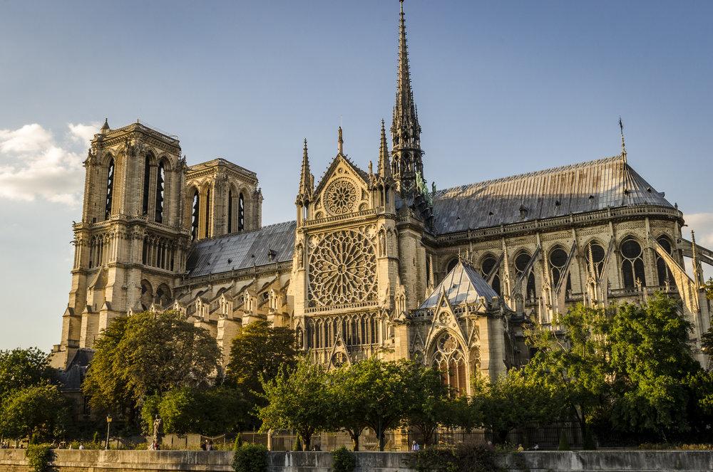 Notre-Dame de Paris from Quai de Montabello
