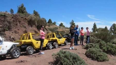 Buggy Tour – Tenerife – 3H30 Teide Express (120 Km)