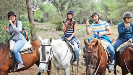 Reiten Am Naturpark & Stadtrundfahrt Von Cádiz