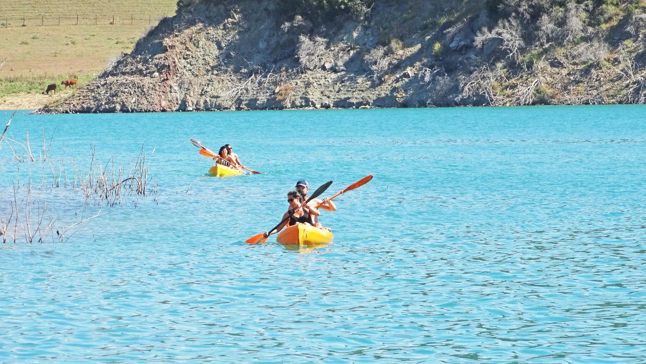 Kayak At Tajo Del Águila