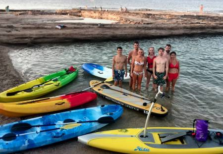 Paddle Surf O Kayak + Snorkel Sunset Tour En Alicante