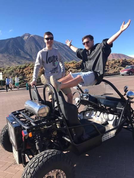 Buggy Tour – Tenerife – 4H30 Teide Tour (150 Km)