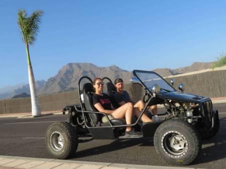 Passeio De Buggy – Tenerife – 1H30 Coastal Rush (32 Km)