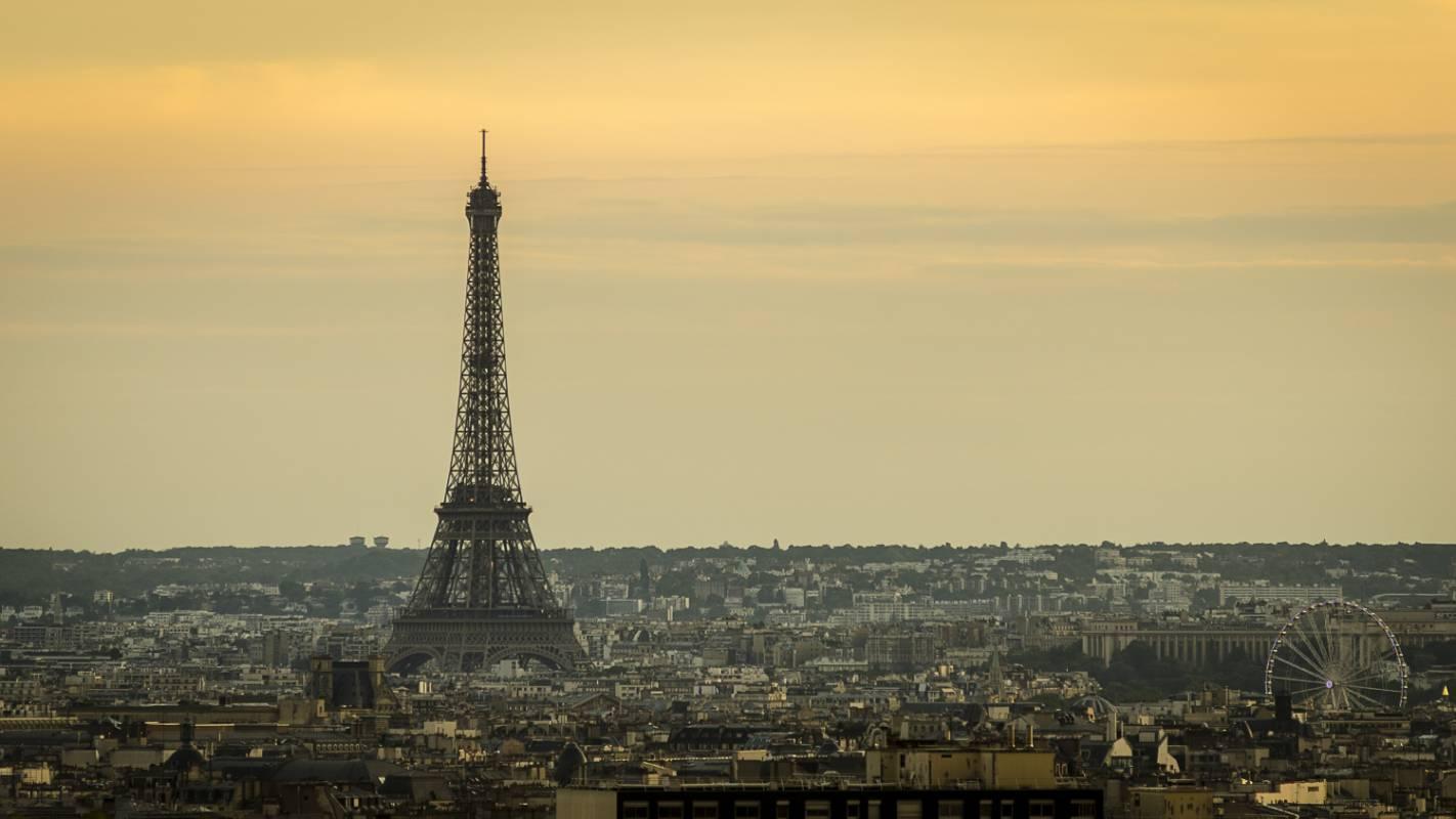 Tour Eiffel de Parc de Belleville