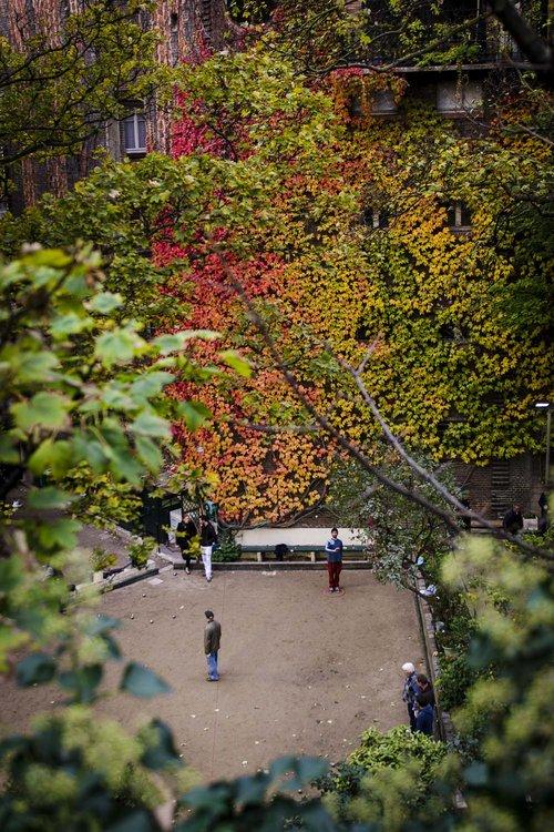 Pétanque in Montmartre