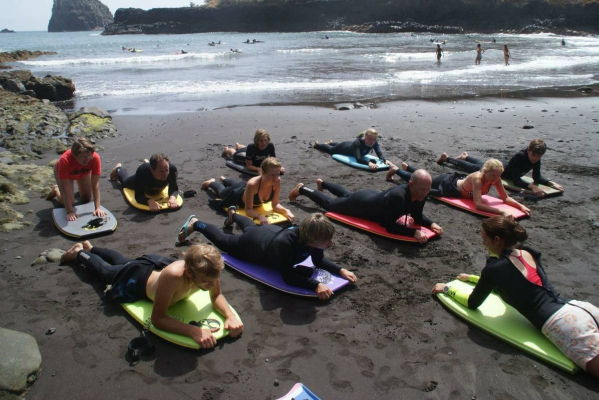 Bodyboard Lessons In Madeira Island